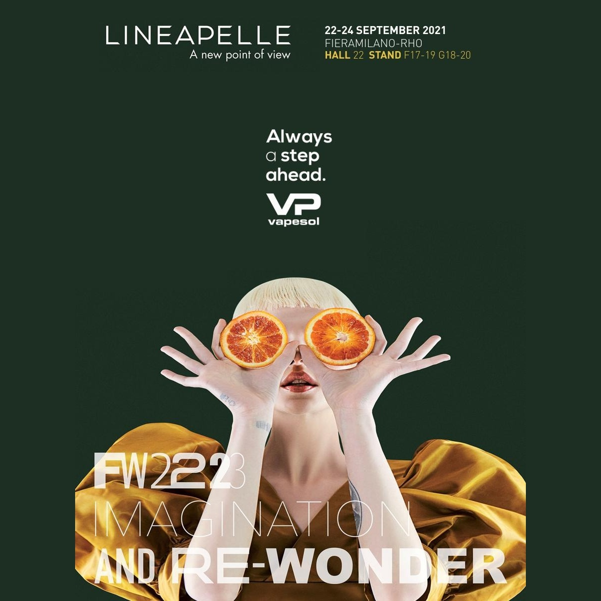 Vapesol is present at Lineapelle from 22 to 24 September